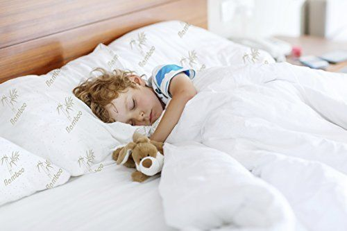 Memory Foam Pillows Kid Sleeping Soundly