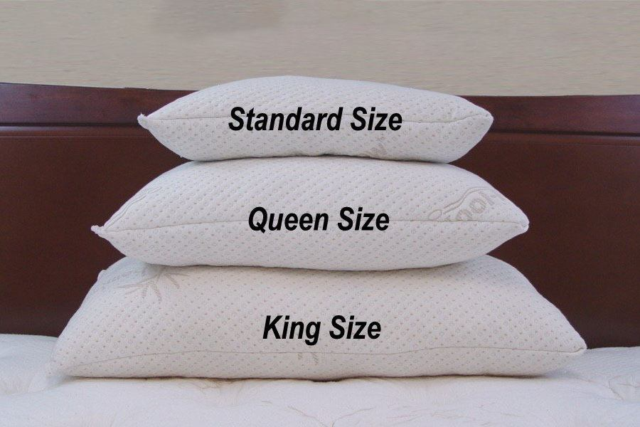 Size of Memory Pillows To Watch out for