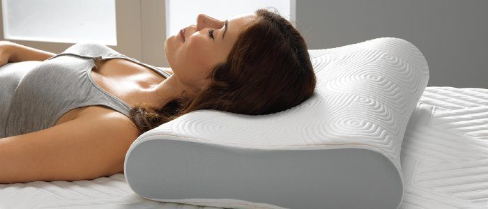 Comfotable Sleep with a memory foam pillow